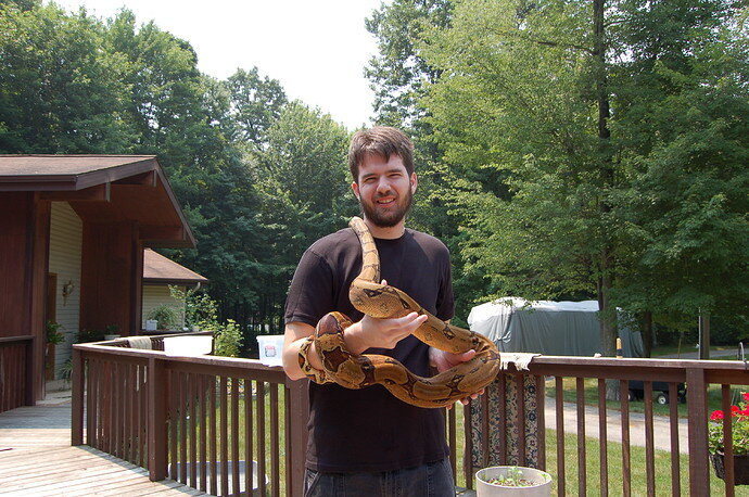 Ryan with Boa 2005